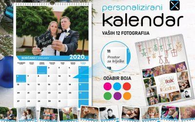Personalizirani kalendari 2020.