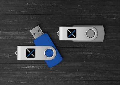 USB s tiskom